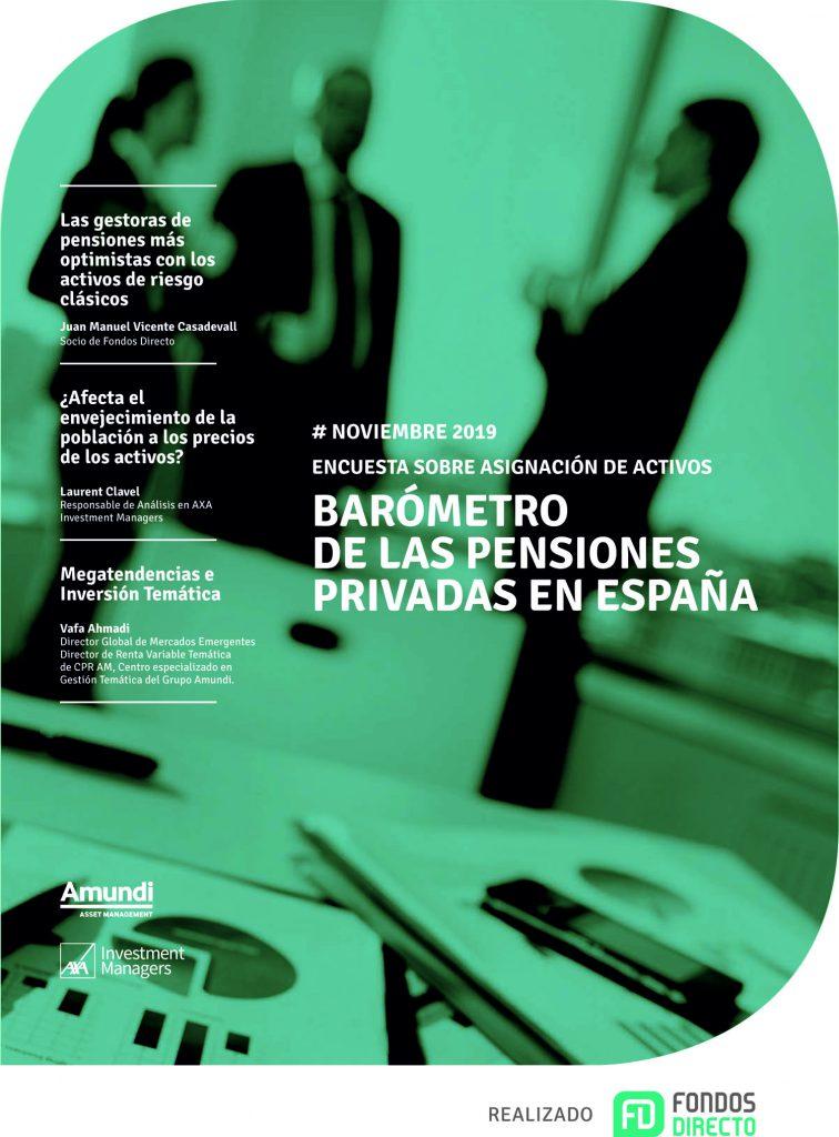 Barómetro de pensiones Nov 19