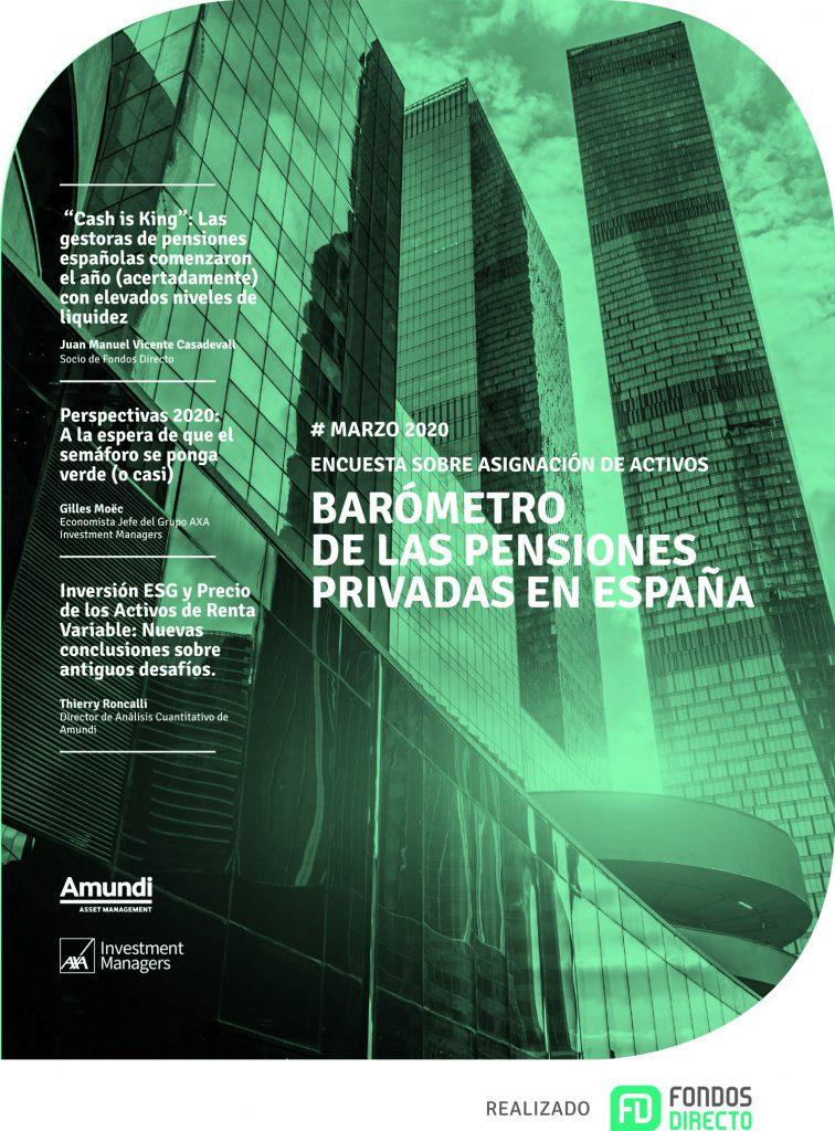 Barómetro de pensiones Mar20
